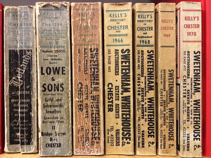 Vintage books at Bebington Reference Library