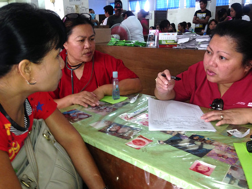 RNRN Nurses in relief efforts in the Philippines.