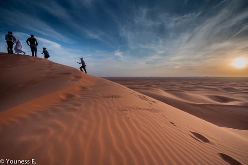 sunset nature landscape nikon desert dunes ngc saudi arabia ng d5000