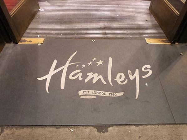 Hamley's entrée