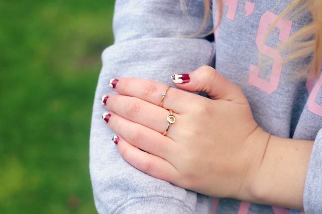 Rings Nail Art
