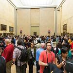 Mona Lisa, Louve