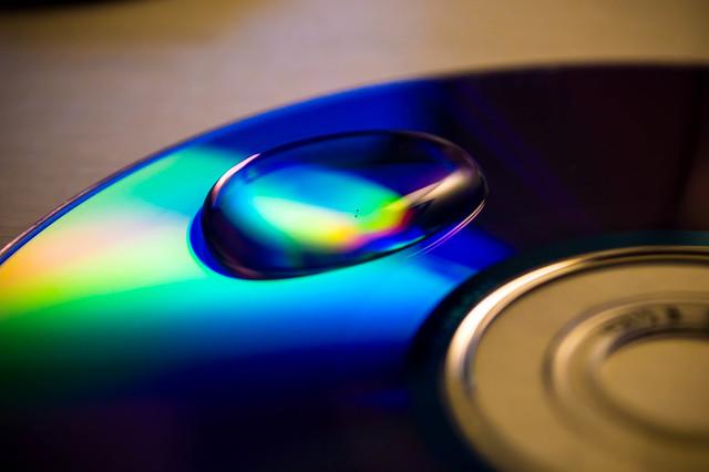 WaterDrop on CD