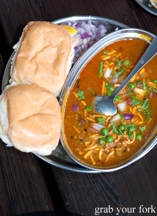 Misal pav at Chatkazz Harris Park