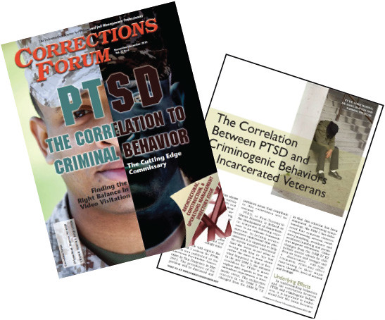 Check out the Nov/Dec edition of Corrections Forum magazine