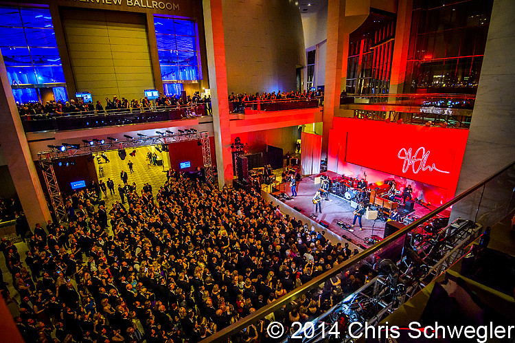 Photos of sheryl crow from january 17th 2014 at the cobo for Charity motors auction in detroit mi