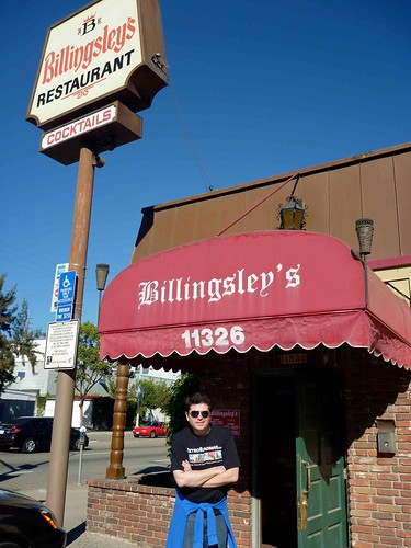 Keith Valcourt at Billingsley's Restaurant Los Angeles CA