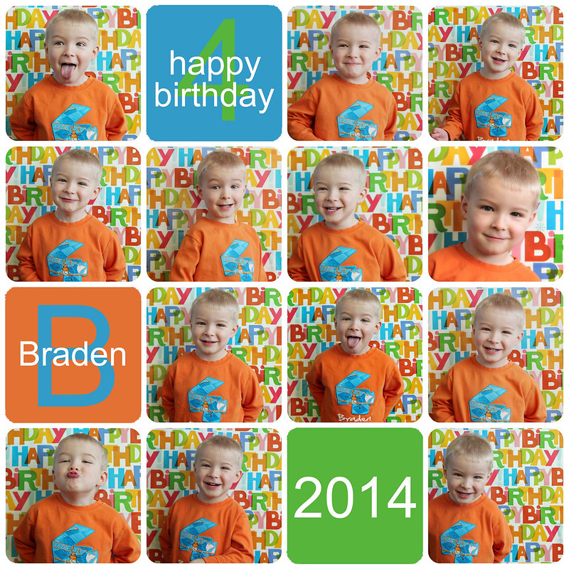 Braden Is 4 Years Old