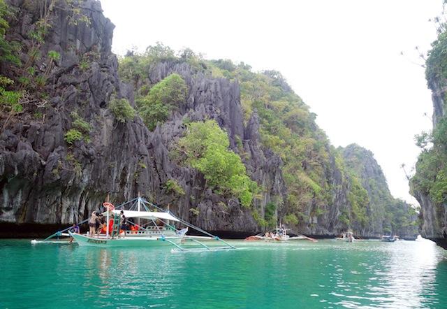 El Nido Palawan island hopping Big Lagoon
