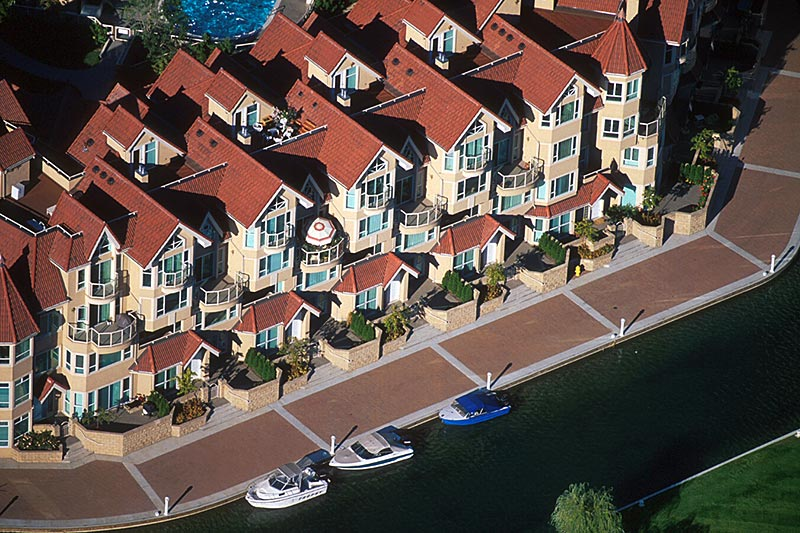 Lakeside Community in Kelowna, Okanagan Valley, British Columbia, Canada