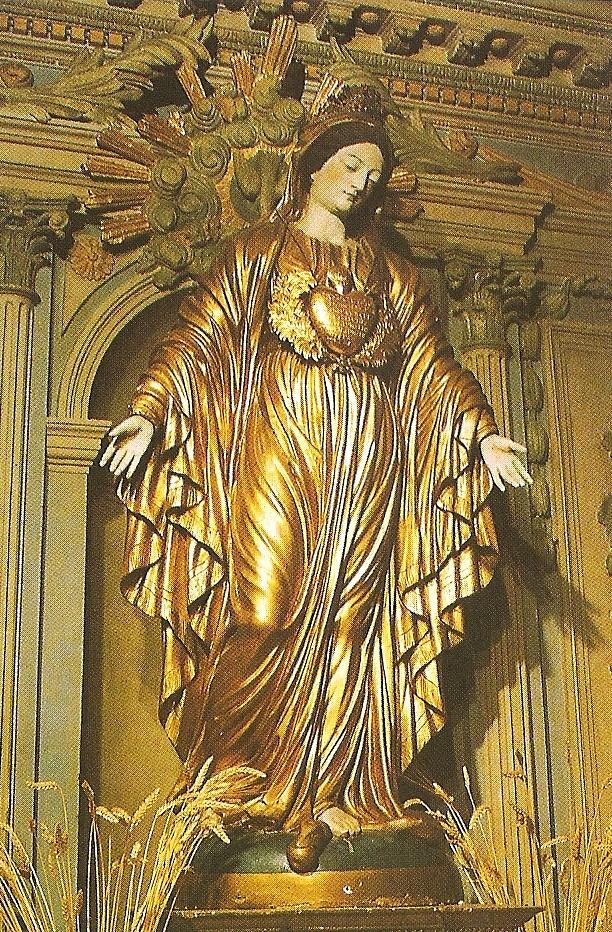 BVM statue