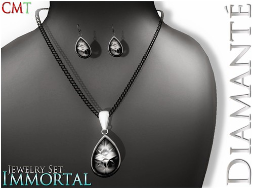 :Diamante: Immortal Jewelry Set by Alliana Petunia