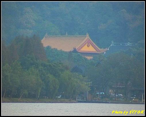 杭州 西湖 (其他景點) - 298 (在西湖十景之 蘇堤 看西湖十景之 南屏晚鐘(淨慈寺))