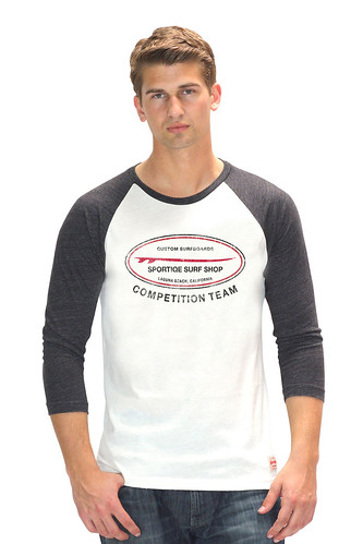 Long Sleeve Surf Shop T-Shirt By Sportiqe Apparel