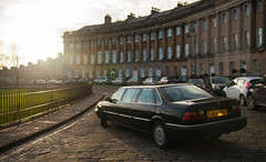 Limo at The Royal Crescent
