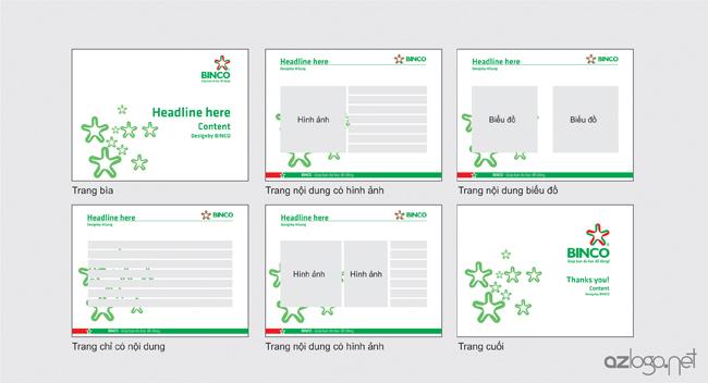 Thiết kế template trình chiếu