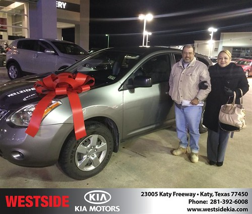 Thank you to Yakelin  Reyes on your new 2009 #Nissan #Rogue from Orlando Baez and everyone at Westside Kia! #LoveMyCar by Westside KIA