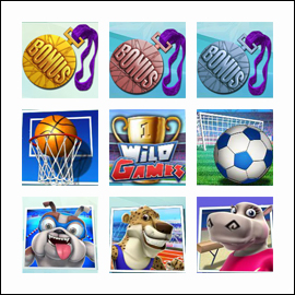 free Wild Games slot game symbols