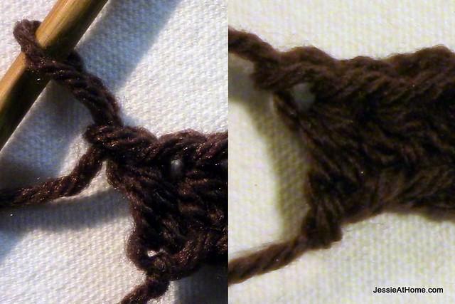 Joseph's-Puff-Stitch-Crochet-Blanket-End-of-row-1