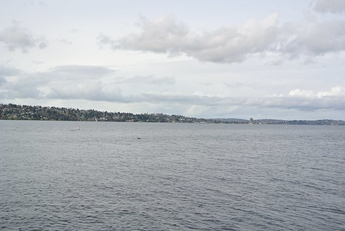 Looking Northwest from Mercer Island