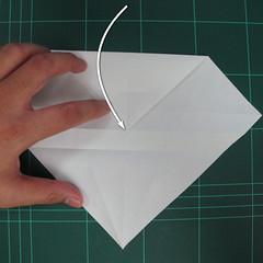 วิธีพับกระดาษเป็นรูปปลาแซลม่อน (Origami Salmon) 013
