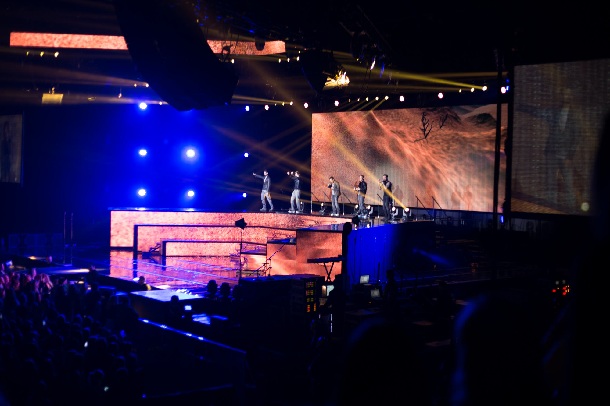 Backstreet Boys Stockholm 2014