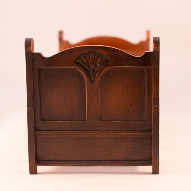 Art Nouveau Bed ,