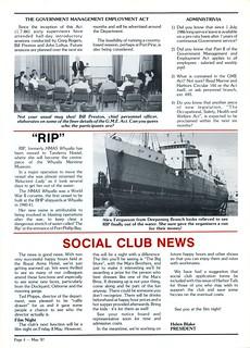 DMH Harbor Talk : 1987 / 05 04