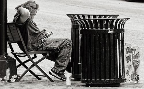 Homeless comfort 1 bw