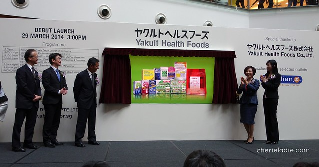 Unveiling and launch of Yakult Health Foods in Singapore