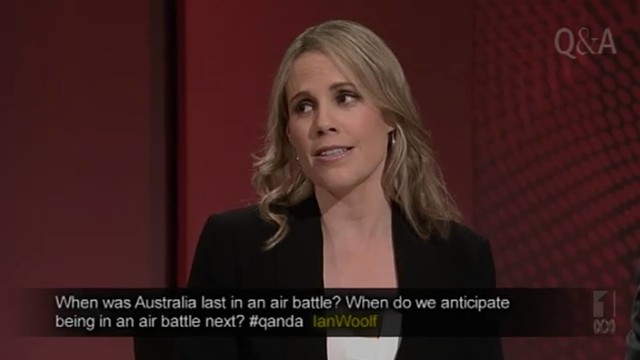 When was Australia last in an air battle? When do we anticipate being in an air battle next? #QandA