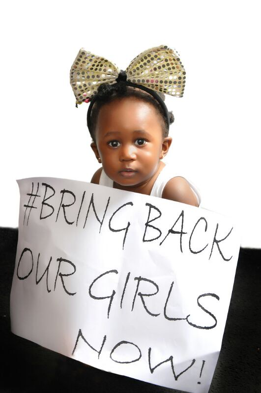 Ghanaian actress Nana Akua Addo joins #BringBackOurGirls campaign