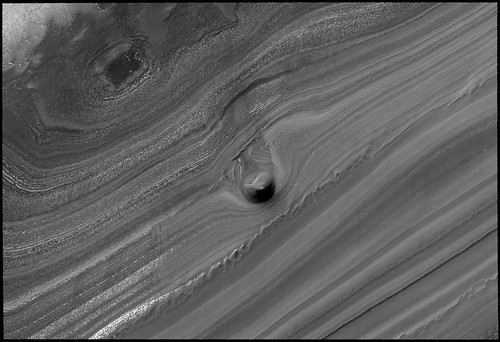 Solar System: Trace of water on Mars