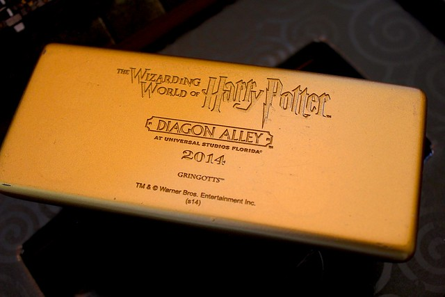 Diagon Alley preview invitation from Universal Orlando