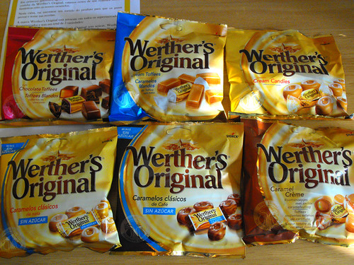 Oferta simpática Werther's Original