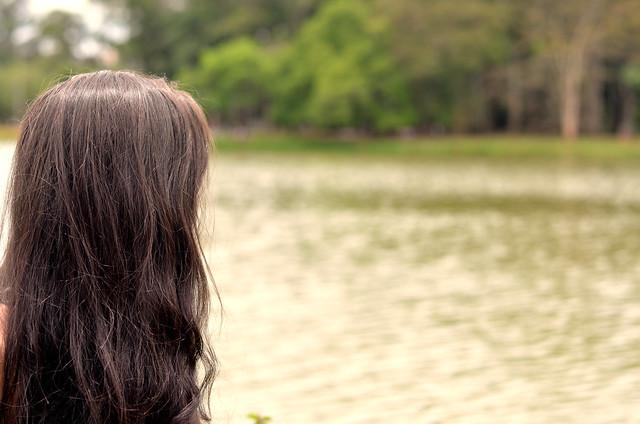 Eu e meu cabelo ressecado admirando o Ibirapuera :)