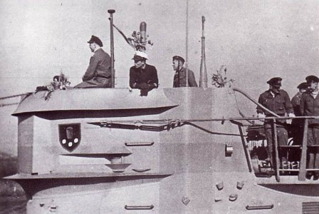 Torreta del U-168
