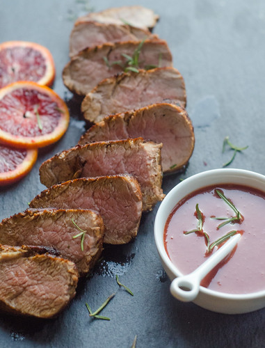 Blood Orange-Rosemary Pork Tenderloin