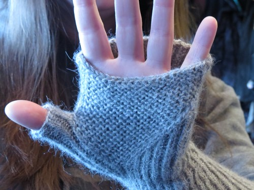 Fingerless Mitts for Mom