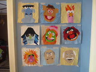 Muppet blocks to date