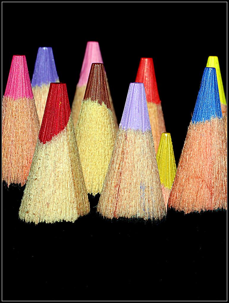 lápices de color nuevos