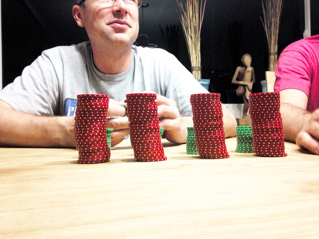 And then we played poker.