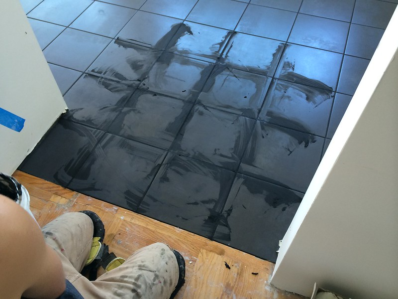 floor grouting