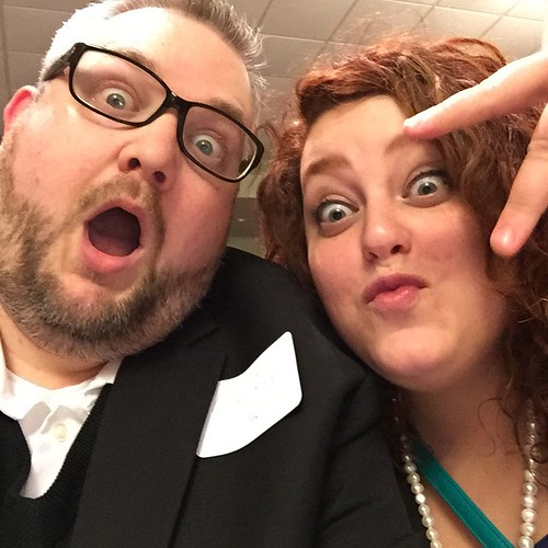 Me and co-worker Sharisse Derby representin' the New Richmond News at tonight's Chamber gala.