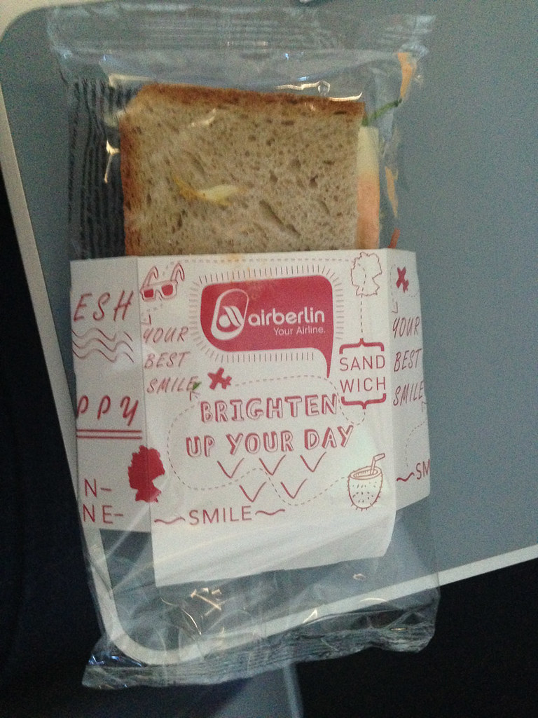 Air Berlin sandwich