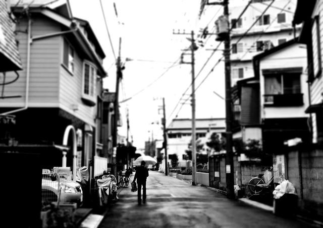 Japanese back streets
