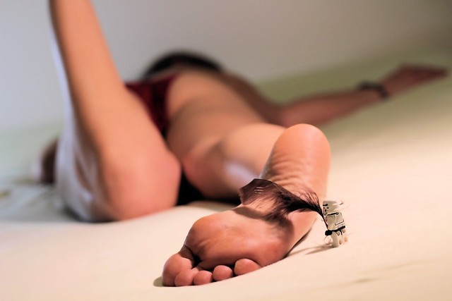 #22 Feather tickling torture