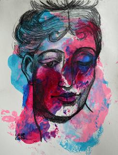 Week 20 - Colourful Expressive Portrait