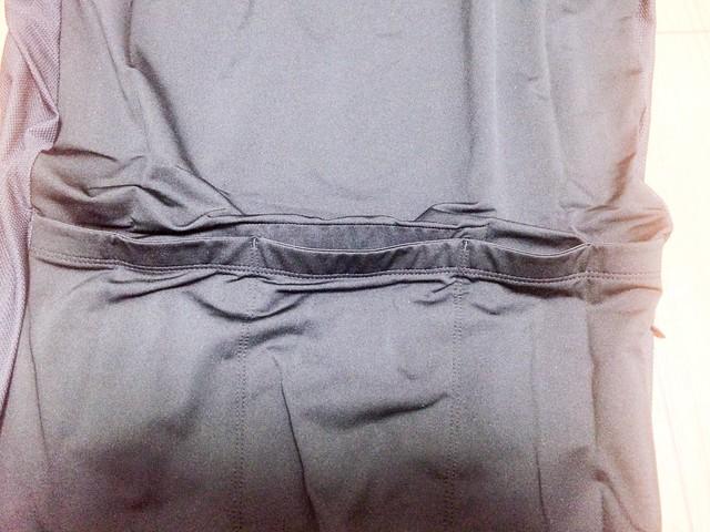 背中のポケット