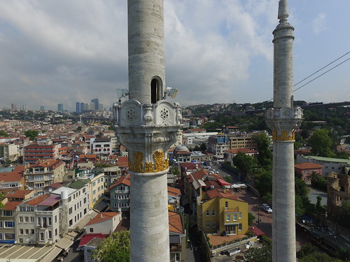 Ortaköy Camii minaretje
